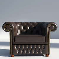 chesterfield arm chair model