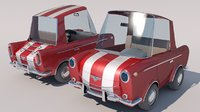 toon car 3D