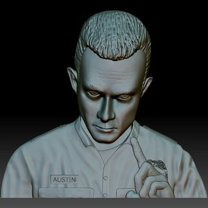 3D model terminator t1000 stl file