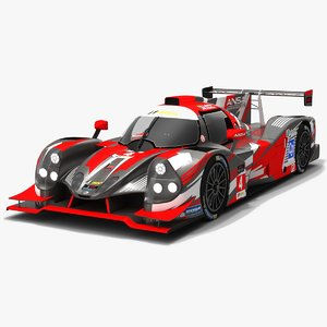 3D ansa motorsports imsa prototype