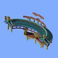 architecture - xian liu 3D model