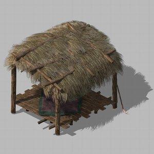 3D building - cottages 011