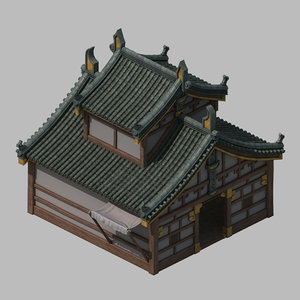 3D architecture - blacksmith 2701 model