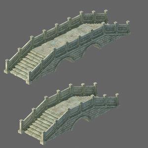 3D architecture - stone bridge