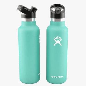 3D 21 oz hydro flask