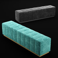 3D bench bed