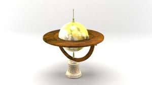 balance scientific 3D model