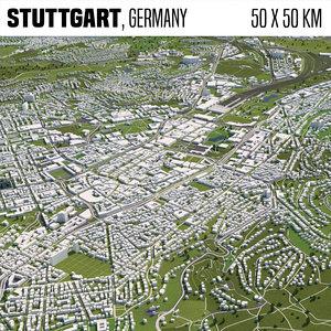 3D world buildings houses model