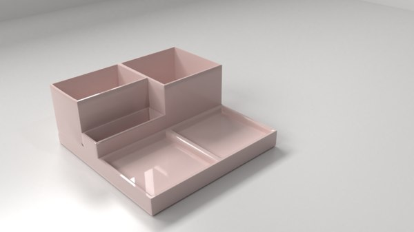 desktop stationery organizer model