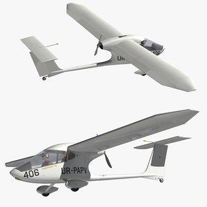 aeroprakt a40 3D model