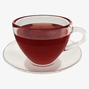 realistic tea cup model