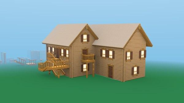 3D modular russian model