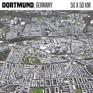 world buildings houses 3D model
