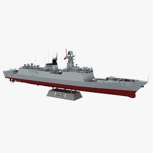 type 054a jiangkai frigate 3D model