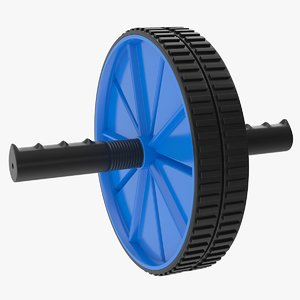 3D ab roller wheel