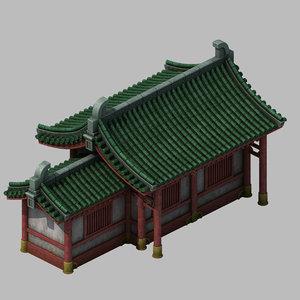 3D model building - yan overlooking