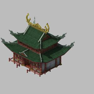 building - yan overlooking 3D model