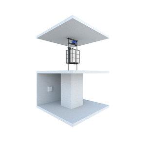 industrial lift 3 3D model