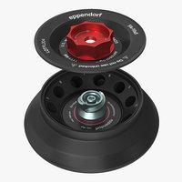 3D eppendorf centrifuge rotor fa model
