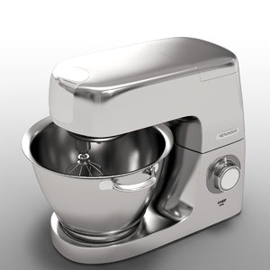 3D kenwood chef elite model