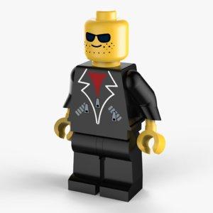lego mafia 3D model