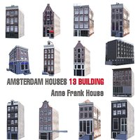 AMSTERDAM HOUSES 13 ANNA FRANK BUILDING