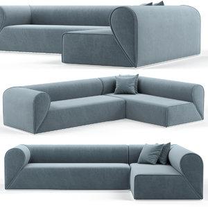 3D model sofa moroso