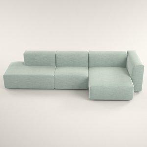 3D mex sofa design