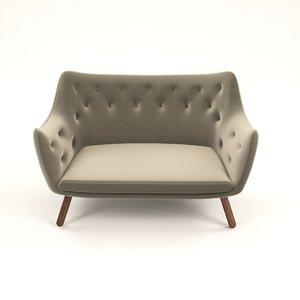 basic sofa design 3D model