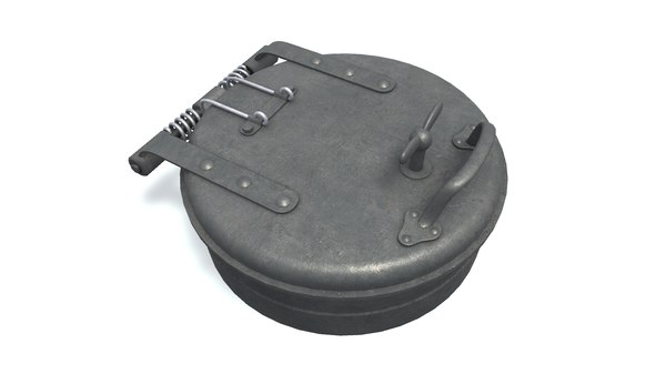 deck hatch b gray model