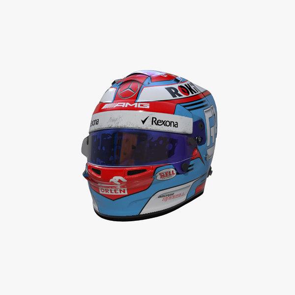 russell 2019 helmet 3D model