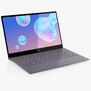 samsung galaxy book s 3D model