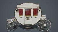 Antique carriage PBR