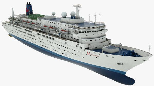 cruise vessel thomson celebration 3D model