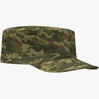 3D army patrol cap s model