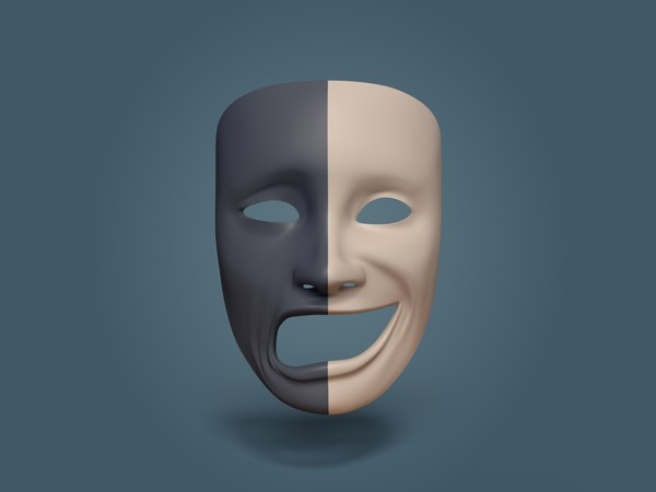 theater mask model
