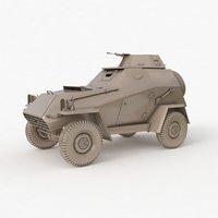 ba 64 soviet clay 3D model