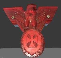motorcycle warbird 3D model