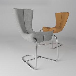 3D komed chair marc