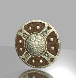 shield iron 3D model