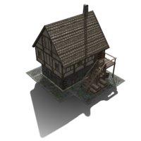 house fantasy 3D model