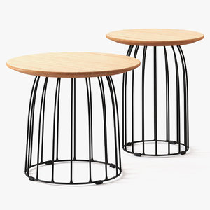 3D model coffee tables cosmorelax bird