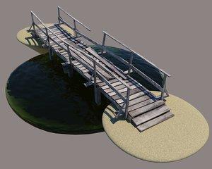 3D bridge wood