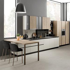 realistic kitchen 2 3D
