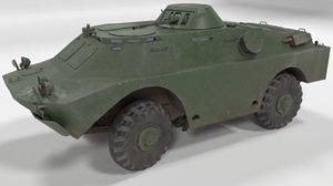 3D soviet polys model