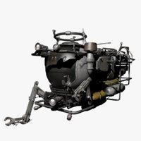 mini submarine 3D