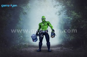 3D funifap Warrior  Character Modeling By Game Art Outsourcing Studio
