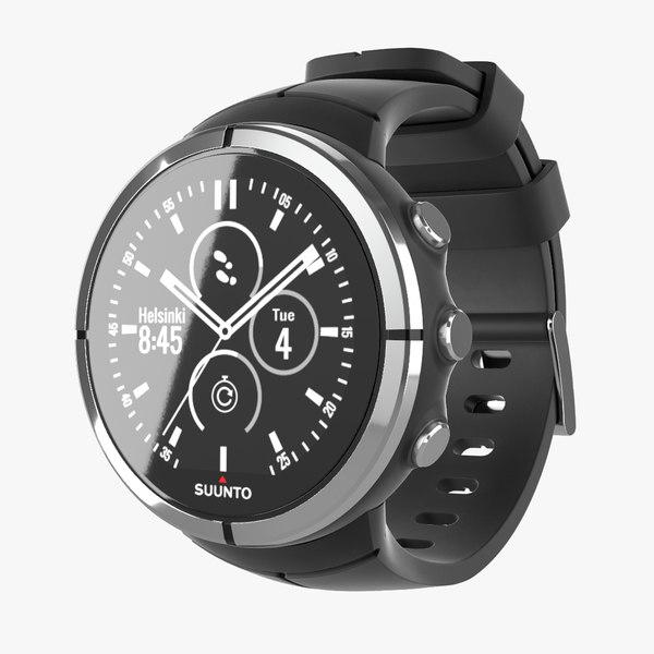 3D suunto watch