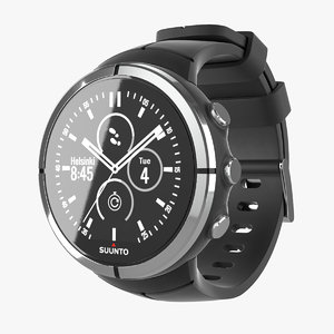 3D suunto watch