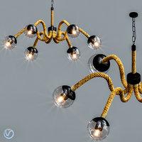 lamp chandelier light 3D